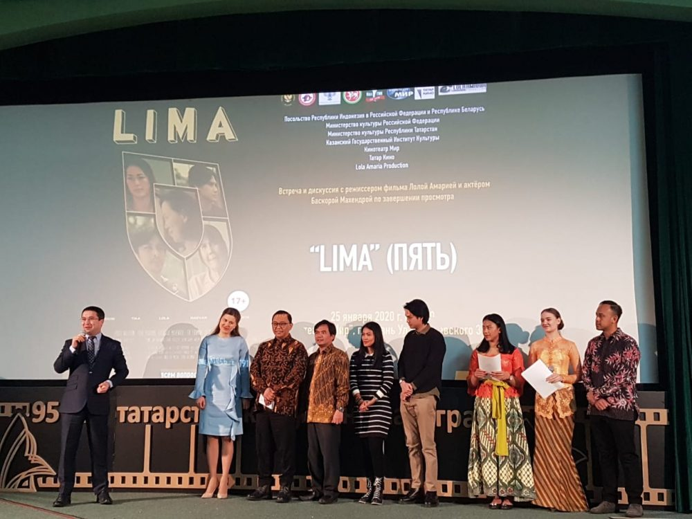 Indonesian film 'Lima' invited to Kazan Festival in Russia 74
