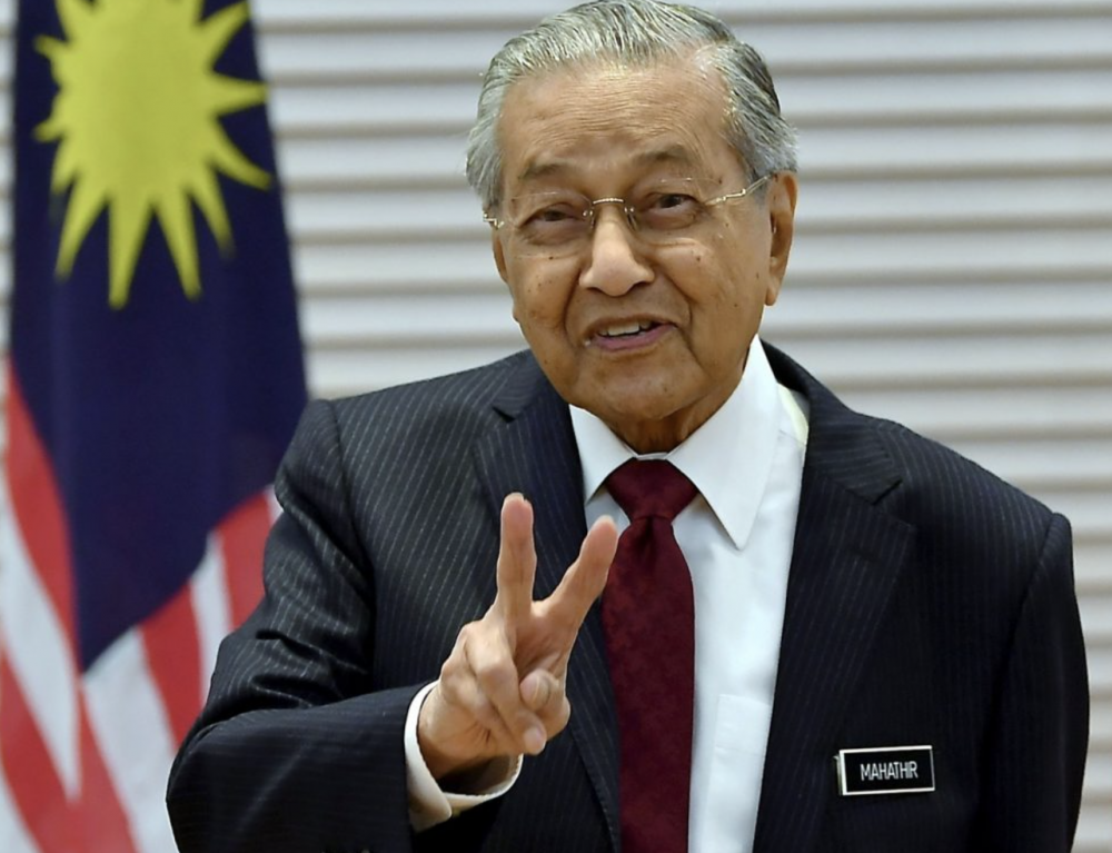 RM20 billion stimulus announced by Malaysian 'interim' Prime Minister. 97