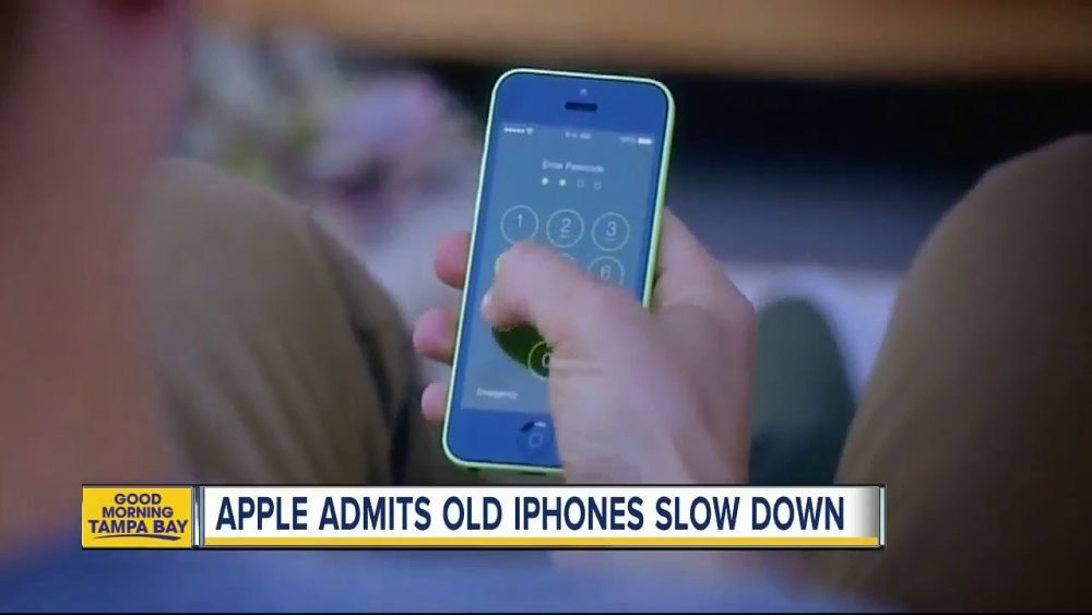 Apple fined for slowing down older iPhones 14