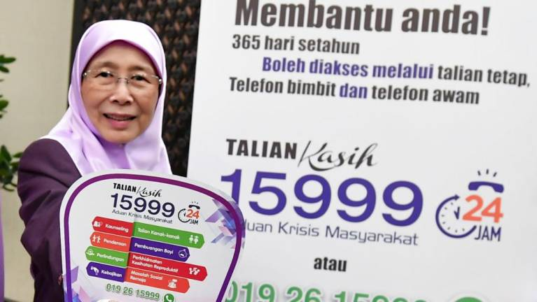 Malaysia's Talian Kasih 15999 now a toll-free service 20
