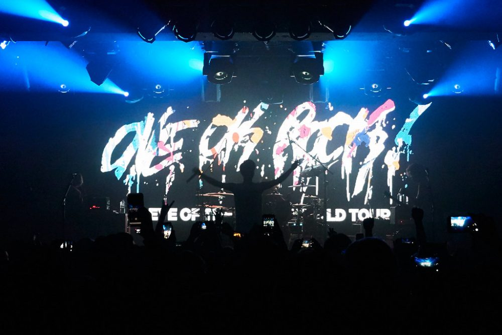 Previous One OK Rock, Eye of the Storm tour.