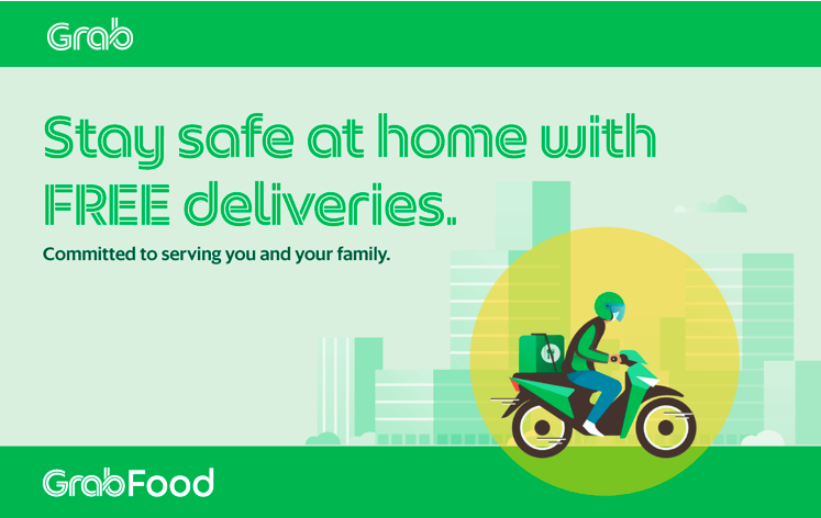 GrabFood Malaysia offers free deliveries 62