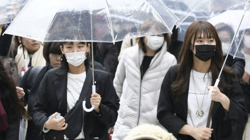 People wearing masks everywhere in Japan News Asia Today
