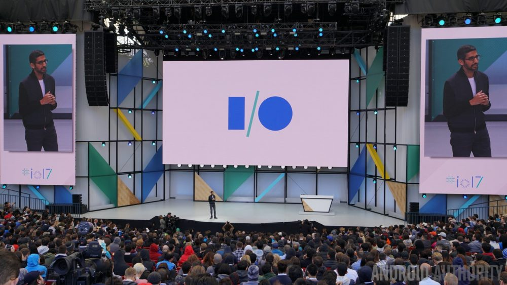Previous year's Google I/O event.