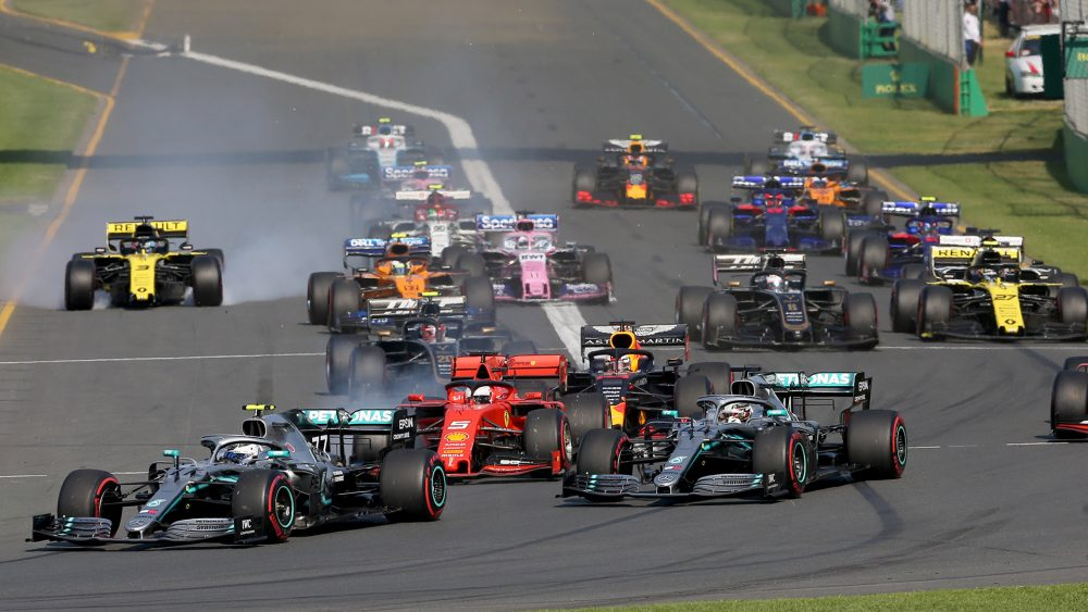 Formula One delayed again, extended to 5 weeks 97