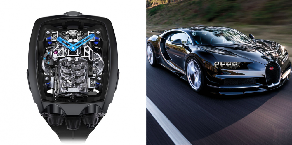 Jacob & Co. puts an engine in the new Bugatti Chiron Tourbillon watch 7