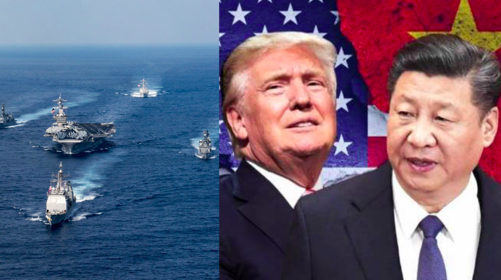 US Navy challenges Beijing's claim to the South China Seas 97