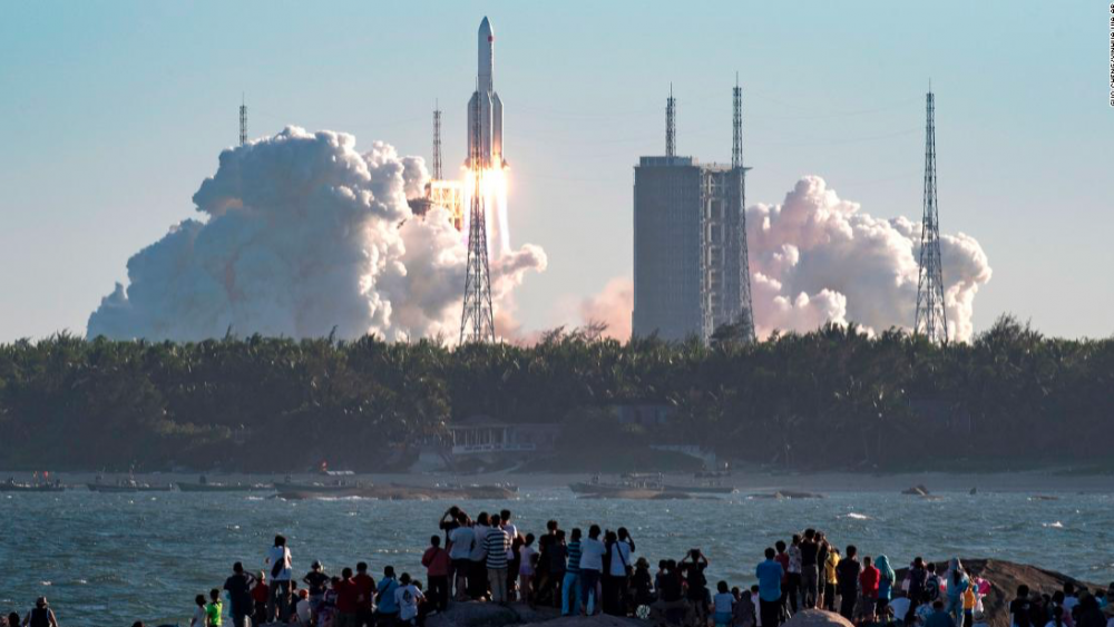 China's dream of a space station on the horizon with launch of new rocket 7
