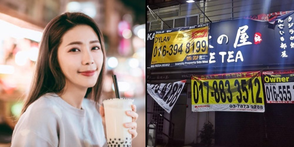 Bubble tea shops across Malaysia are closing down; queues disappear at popular spots. 97