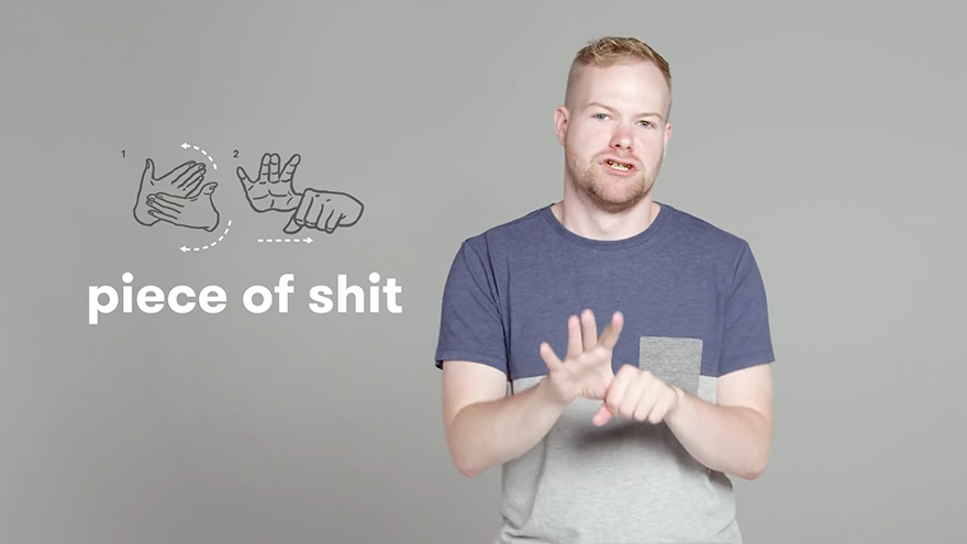 "Old ""sign-language swearing"" post on Facebook goes viral again; this time in Asia. 70"