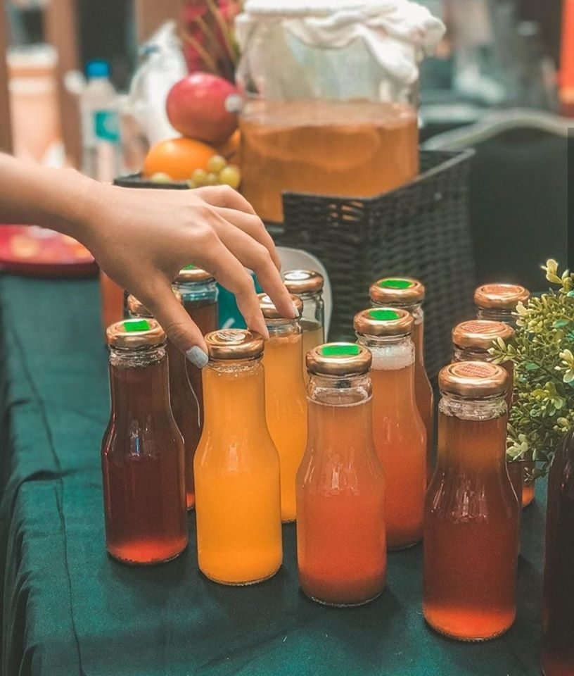Alocha aims to substitute Malaysians' soft drinks consumption with Kombucha. 27