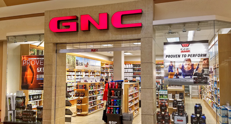 Body building products retailer, GNC, files for bankruptcy. 73