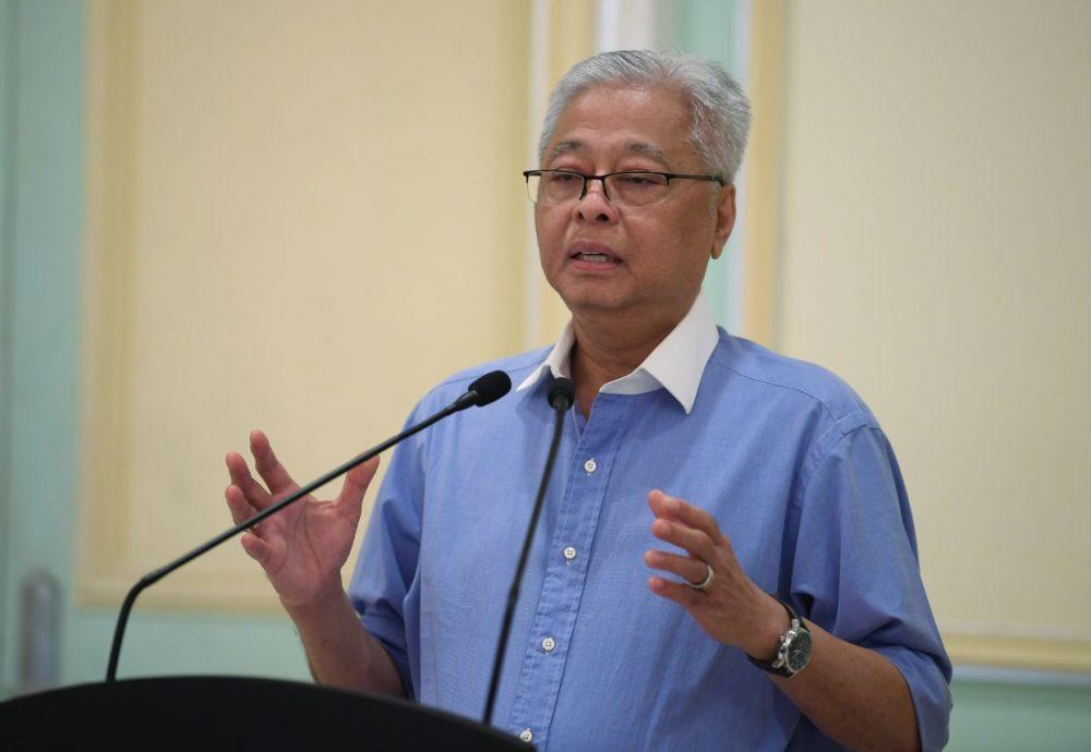 Malaysian Defense Minister, Seri Ismail Sabri Yaakob