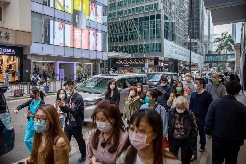 Hong Kong cases surge dining out banned News Asia Today
