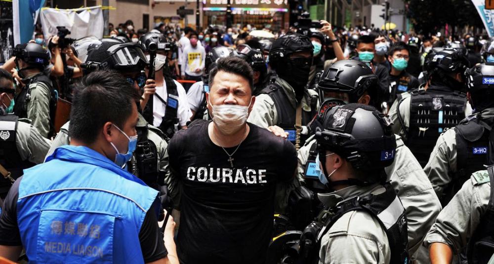 Hong Kong courage News Asia Today