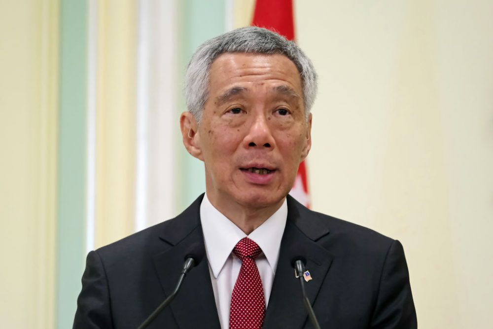 Singaporean Prime Minister, Lee Hsien Loong News Asia Today