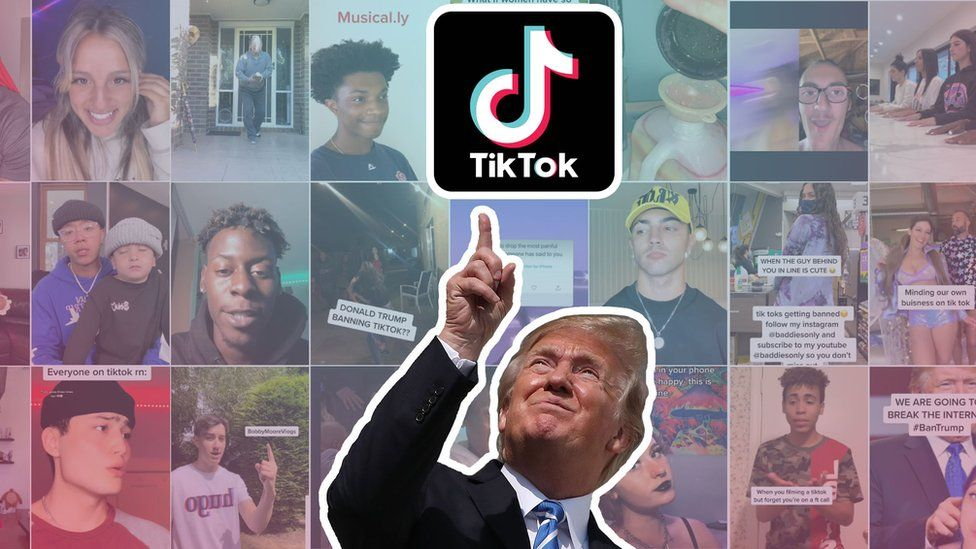 Trump wants to ban TikTok; his administration is now being sued by them. 19