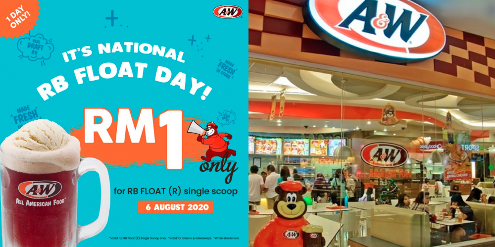 A&W Malaysia celebrates national day by offering RM1 RootBeer Float 19