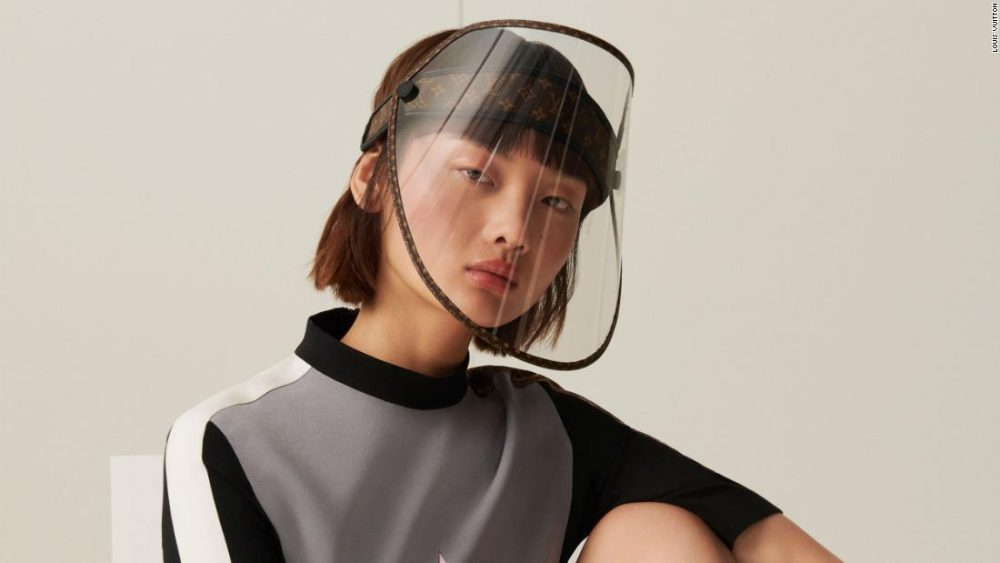 Louis Vuitton Luxury Face Shield News Asia Today