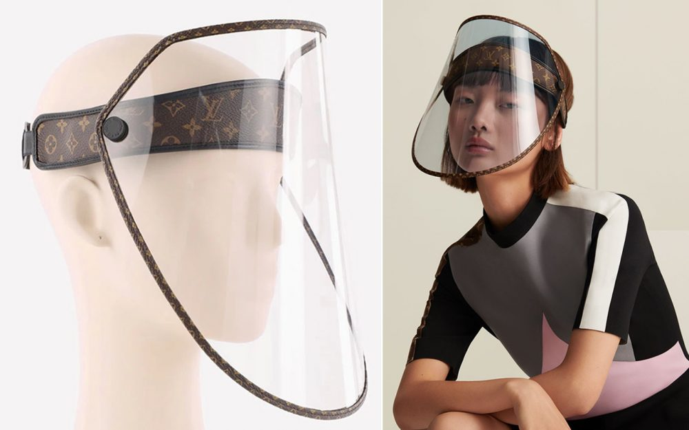 Louis Vuitton Luxury Face Shield Hat News Asia Today
