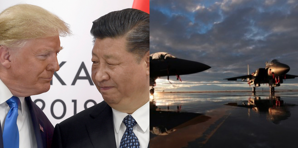 China claims US spy plane disguised as a Philippines plane flies over Yellow Sea 73