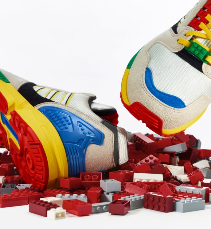 Never too old to play - Adidas launches Lego themed sneakers 74
