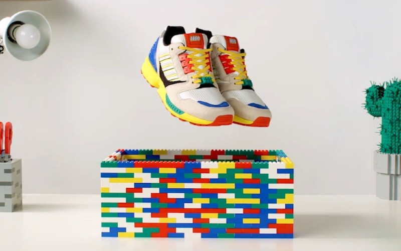 Never too old to play - Adidas launches Lego themed sneakers 85