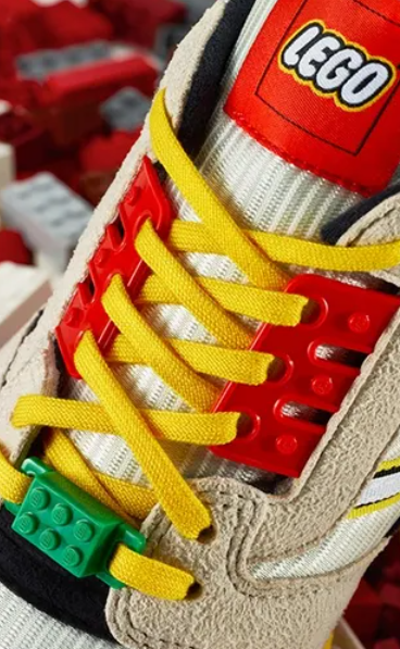 Never too old to play - Adidas launches Lego themed sneakers 75