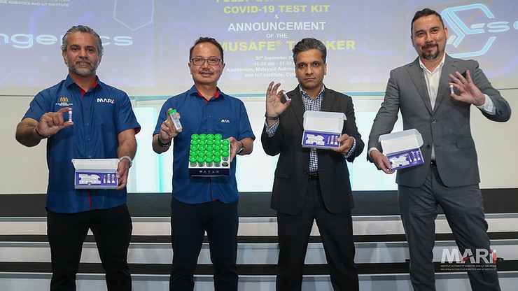 Malaysia launches world first multi-domain Covid test kit 73