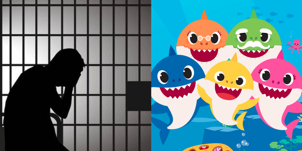 Baby Shark song played on loop to prison inmates, US prison staff got charged 85