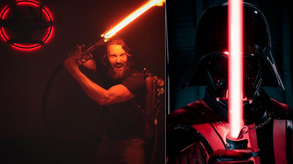 Man creates real-life Star Wars lightsaber that cuts through metal 73