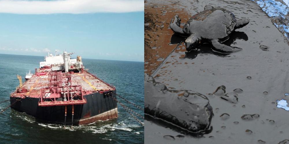 Tilting Venezuelan oil tanker could trigger 2nd worst oil spill in human history 97