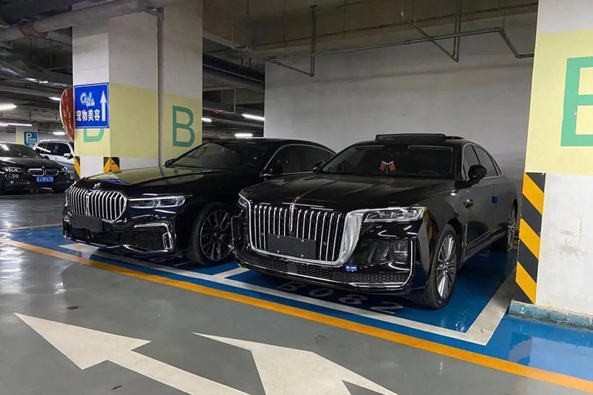 China's Hongqi H9 has an even more ridiculous grille than BMW's new design philosophy 85