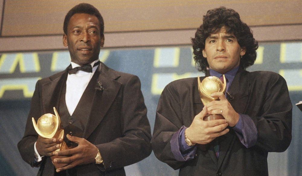 "Legendary ""Hand of God"" Diego Maradona passed away at 60 74"