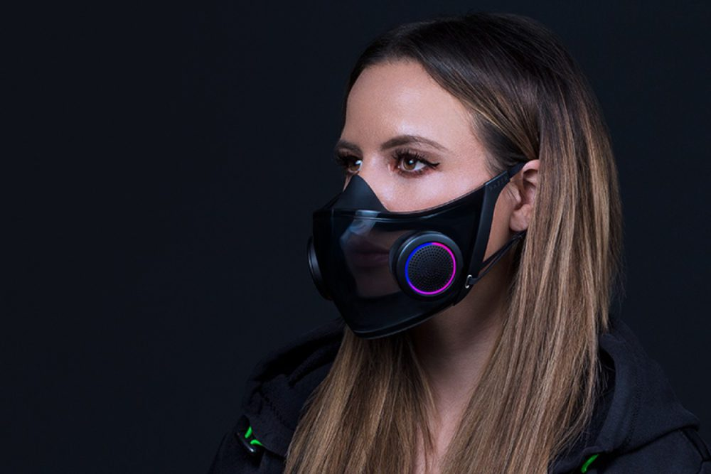 Project Hazel; Razer creates the smartest mask with RGB & voice projection 61