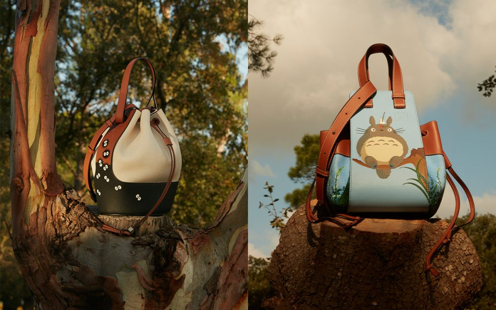 """Loewe Debuts """"My Neighbor Totoro"""" Capsule Collection; Available on January 85"""