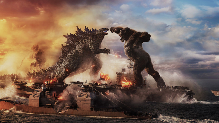 King Kong looks scared in the latest Godzilla Vs. Kong trailer 74