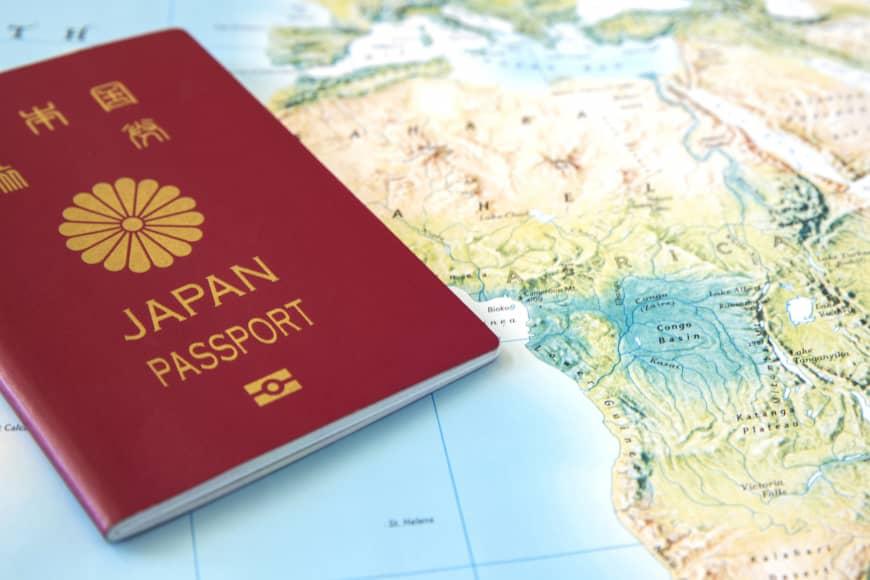2021 top ten, World's most powerful passports 68