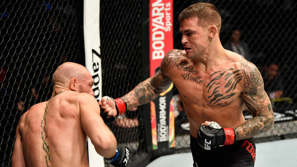 Legendary Conor McGregor got crushed and KO-ed by Dustin Poirier 74