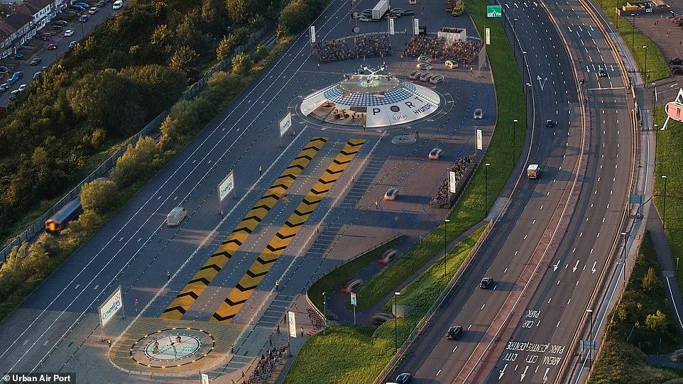 Flying car airport UK