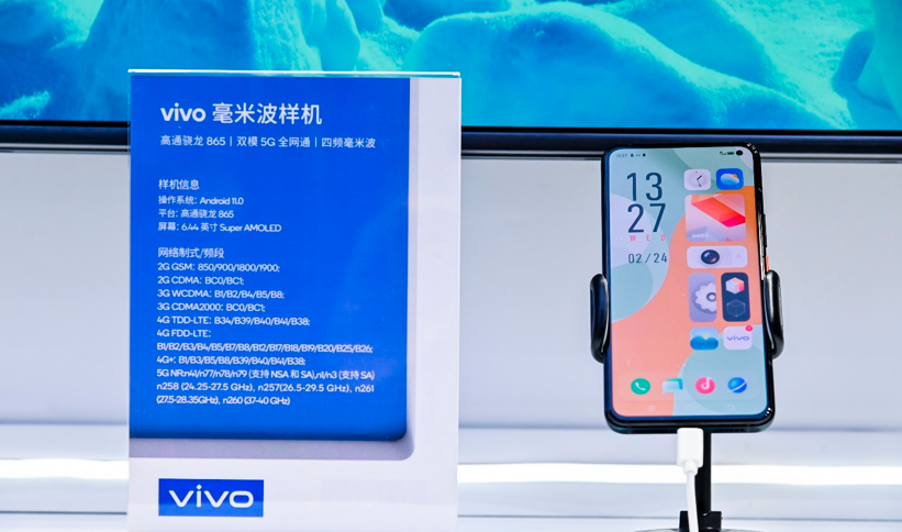 Chinese phone maker vivo brings Video Live Streaming to next level; showcases 5G mmWave tech 75