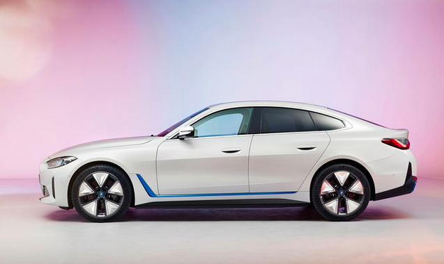 BMW unveils its first stunning electric sedan - the BMW i4 57