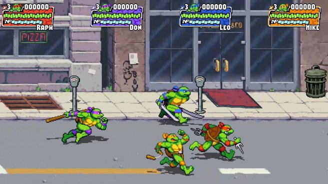 Retro Ninja Turtles game is returning and supports 4 players brawl 74