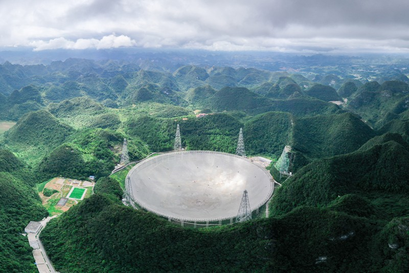 China's world largest radio telescope, FAST, opens to global scientists to aid research 62