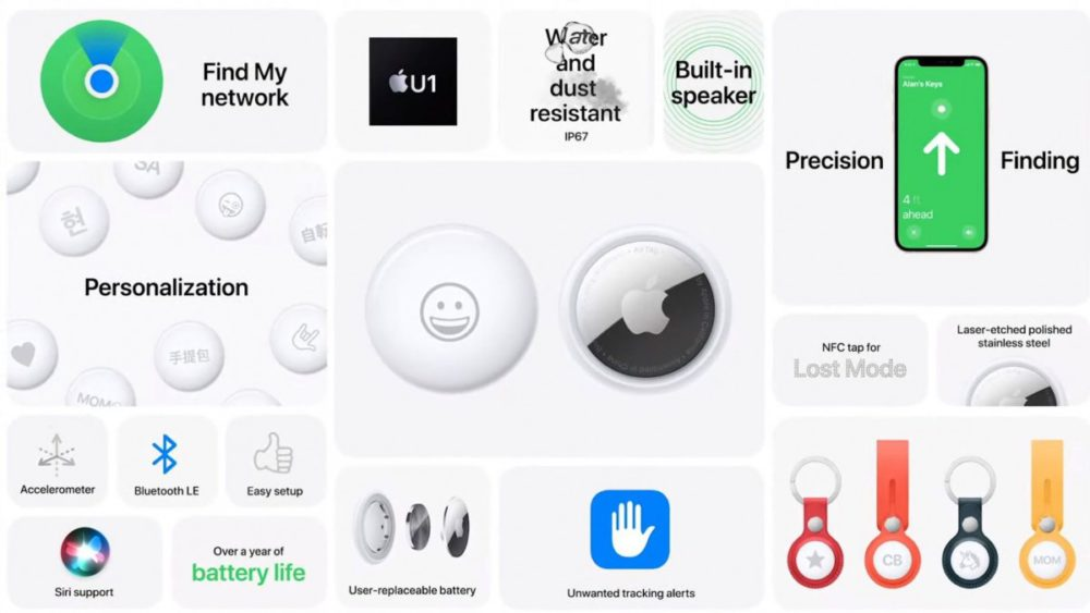 Apple announces $29 AirTag, a cool small size item tracker 69