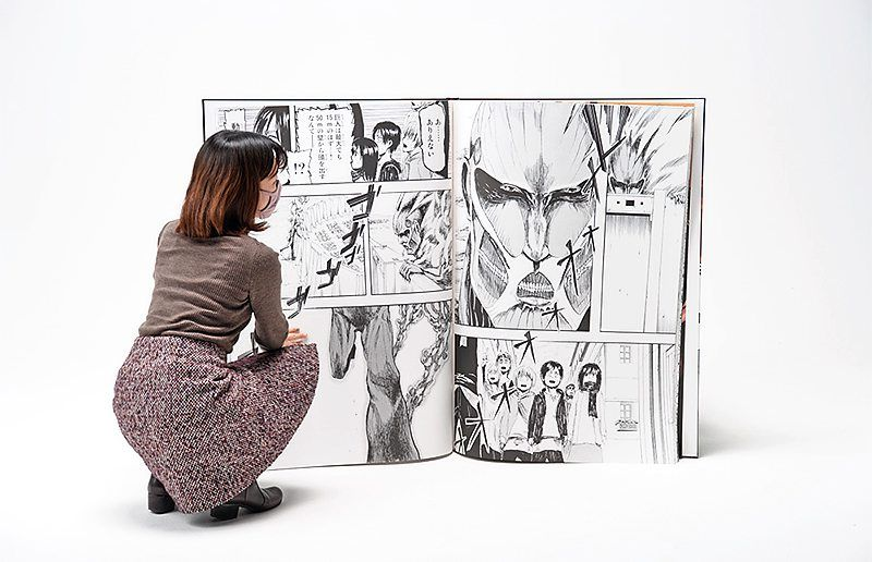 Attack on Titan sets Guinness World Record for the largest comic book published 62