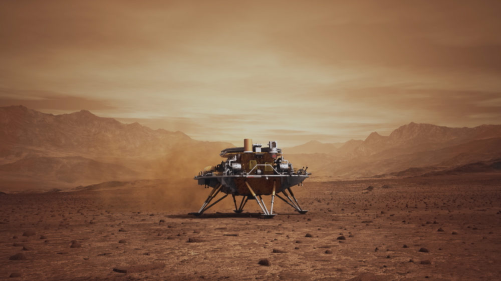 The space race continues: China's ZhuRong successfully lands on Mars 74