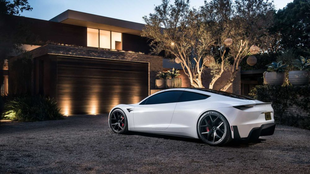 Musk claims Tesla Roadster can do stunning 0-100 in 1.1s with SpaceX package 74