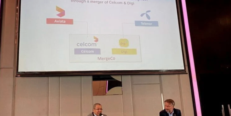 Malaysia's telecommunication giants, Celcom and Digi are on the verge of merging 62
