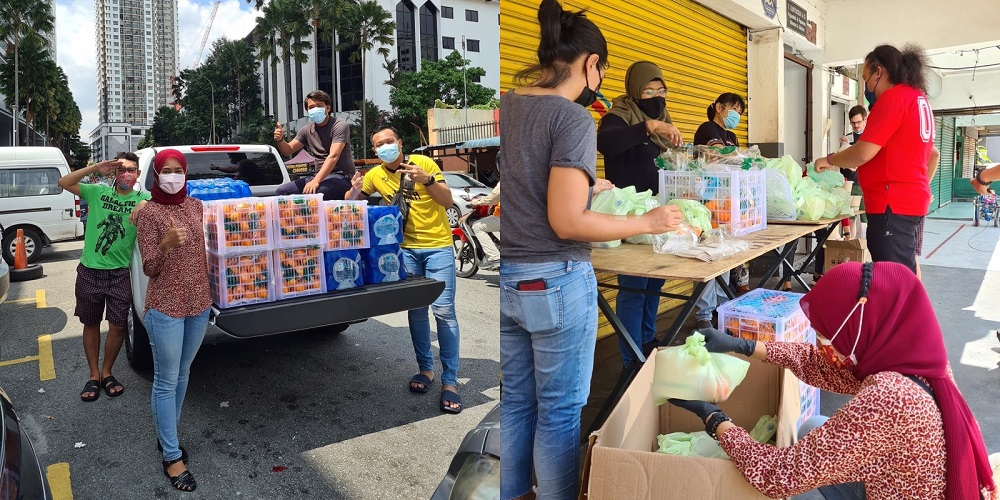 MY White Flag campaign: a woman wants donor to send boba tea & chicken chop to her doorstep 62